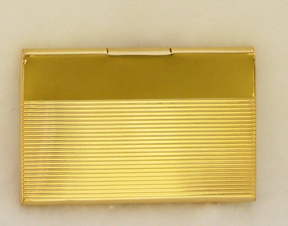 Business card holder gold images card design and card template business card holder gold image collections card design and card business card holders gold plated ribbed colourmoves Gallery